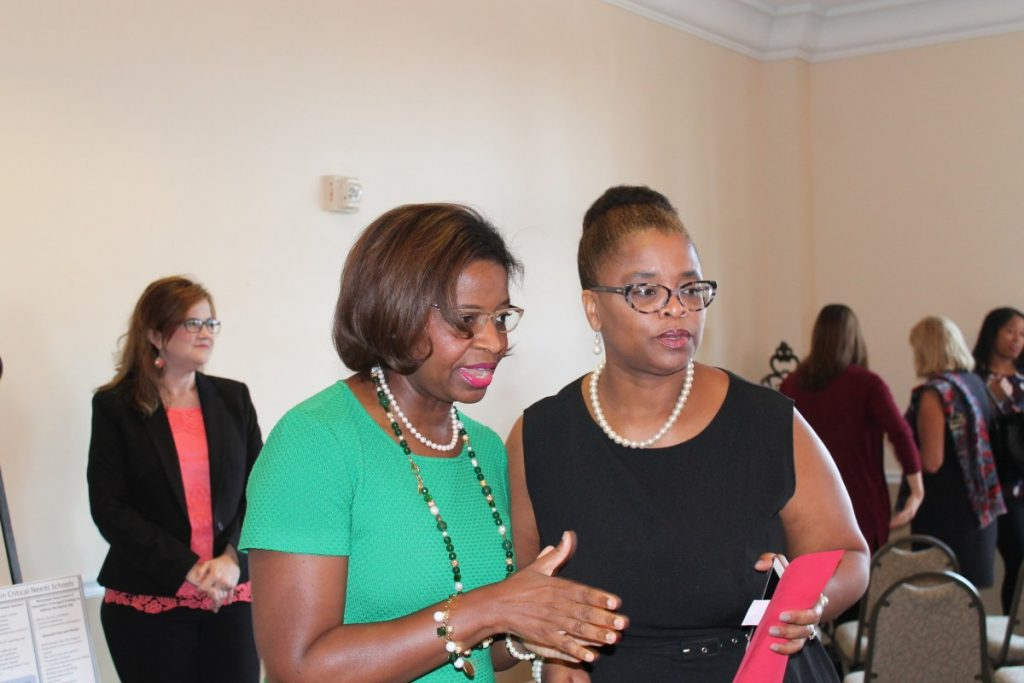 Dr. RoSusan Bartee, Panel Moderator and Dr. Nichelle C. Robinson, SOE Diversity Officer