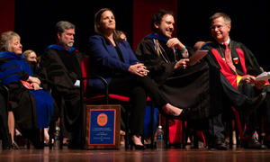 Ann Monroe Wins Elsie M. Hood Outstanding Teacher Award