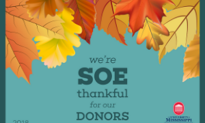 SOE Students Send 1,003 Thank You Notes to Donors