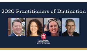 School of Education Honors 2020 Practitioners of Distinction