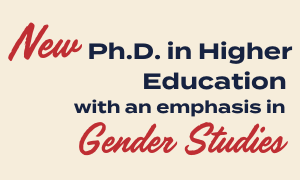 Dept. of Higher Education and the Sarah Isom Center Form Partnership for New Ph.D. Emphasis Area