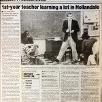 In 1990, The Clarion-Ledger article describes Troy Thibodeaux's experience teaching English and French in the Mississippi Delta.